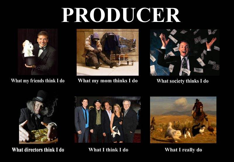 What I Really Do as a producer