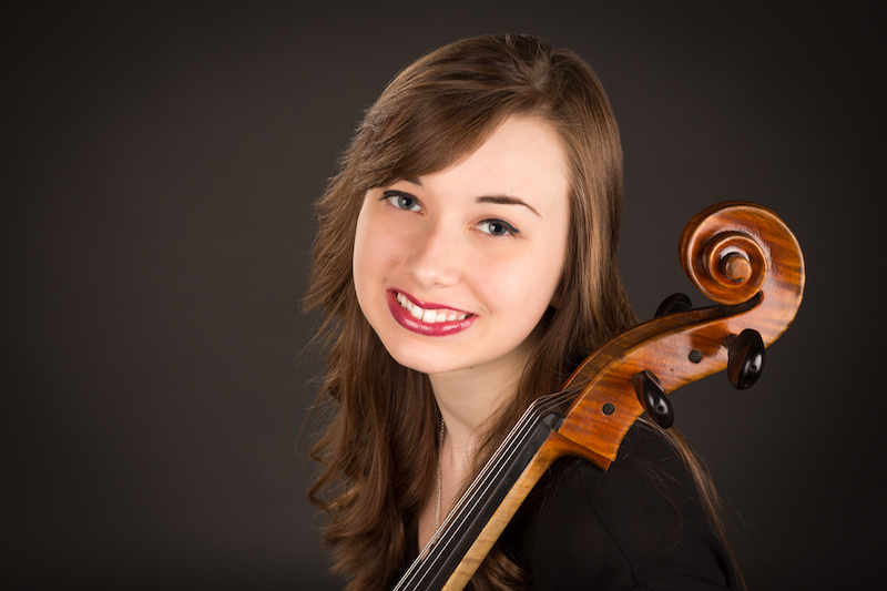 Caley Koch, cello soloist