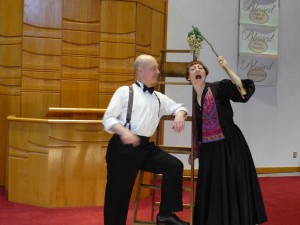 Sabrina Mandell and Mark Jaster of Happenstance Theater