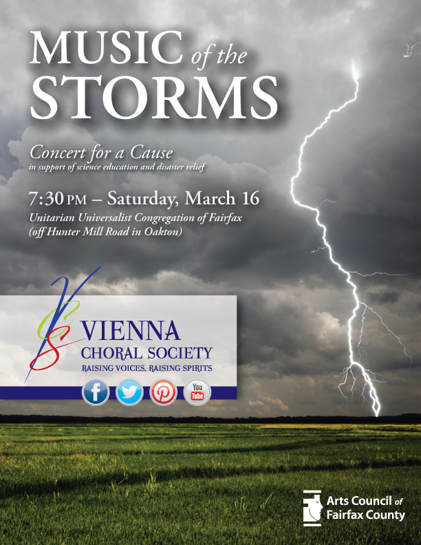 Poster for Music of the Storms, artwork by Steven Keen