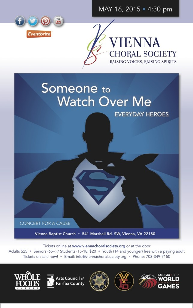 """Poster for """"Someone To Watch Over Me: Everyday Heroes"""" artwork by Steven Keen/Keen Method Graphic Design"""