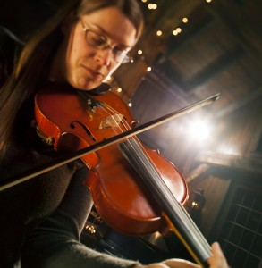 Stacey Sinclair, our guest fiddler this weekend.