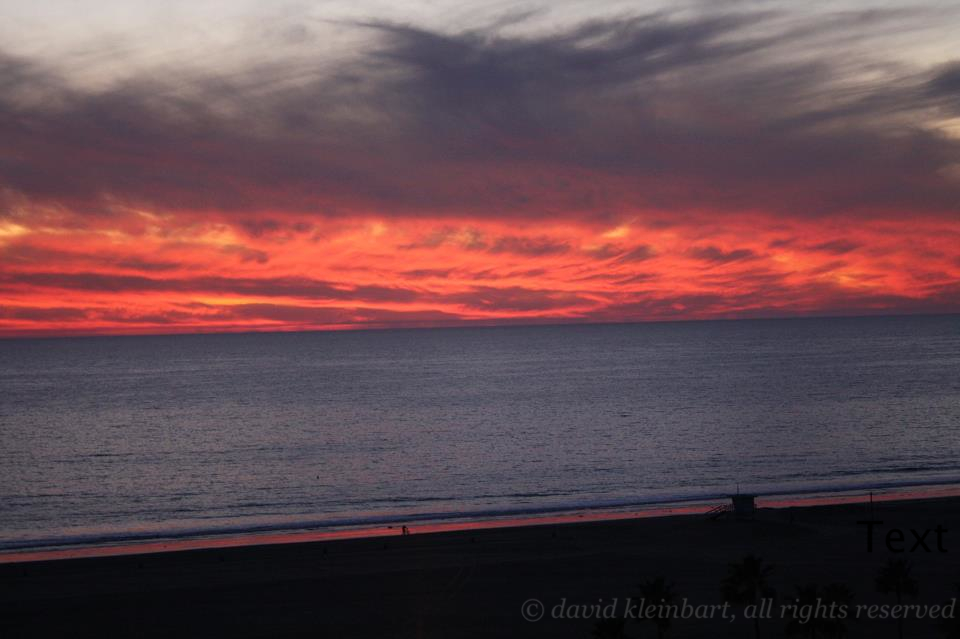 Sunset, Santa Monica, CA (December 2011)
