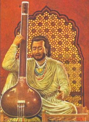 Tansen - music genius, court favorite, legend.